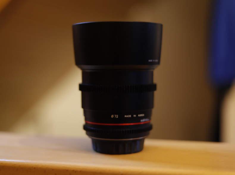 29376 Walimex Pro 85mm F1.4 für Canon EF