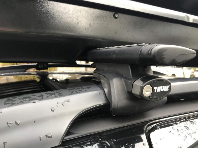 29613 Dachträger Thule WingBar Black