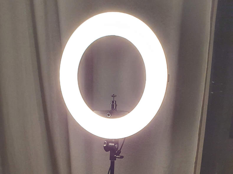 29770 Walimex Ringleuchte 380 LED