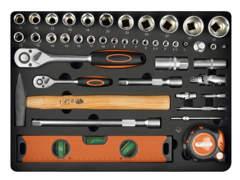 30013 Werkzeug-Rollkoffer, 152-teilig