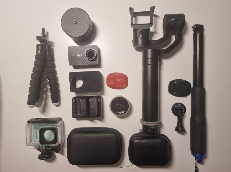 30181 Action Kamera Set mit Gimbal