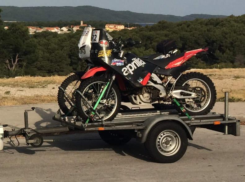 30188 Motorradanhänger für 2 Motorräder