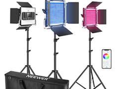 30303 Neewer 3er Pack 660 RGB LED Licht