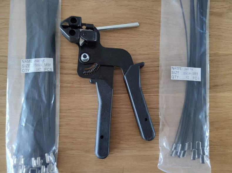 30346 Zange für Metall Kabelbinder