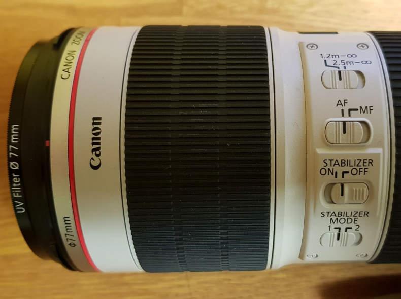 30550 Canon L-Serie 70 - 200mm, 2.8