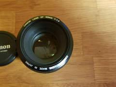 30553 Canon Objektiv EF 50mm f1.4