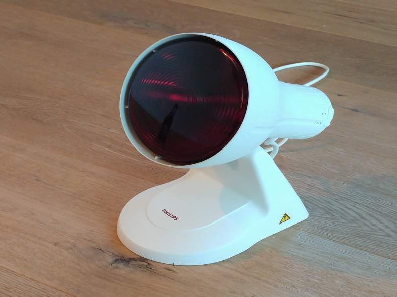 3211 Infrarotlampe gegen Erklältung