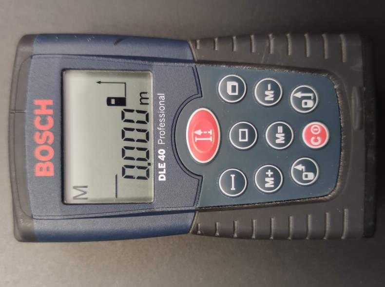 30827 Bosch Laserentfernungsmesser DLE 40