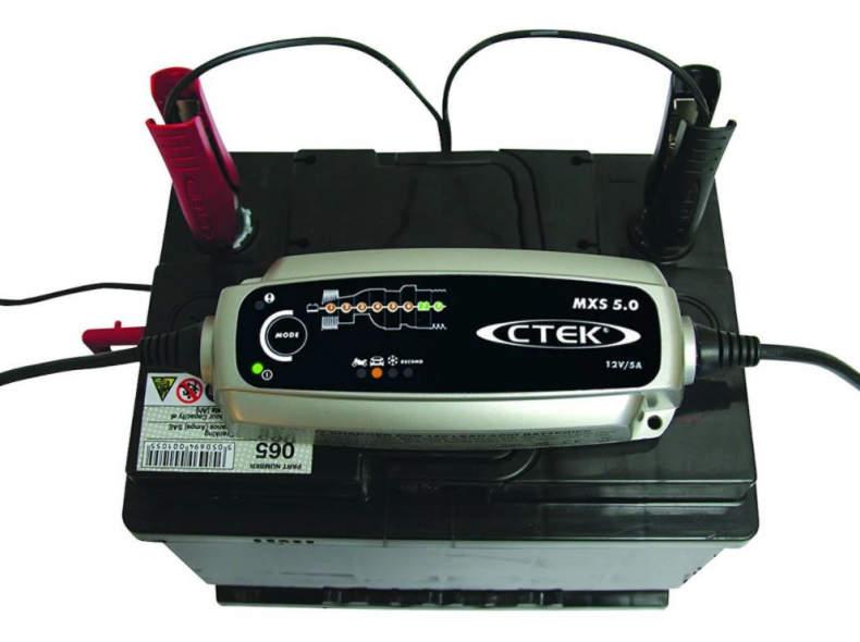 30845 Ctek MSX 5.0 Ladegerät