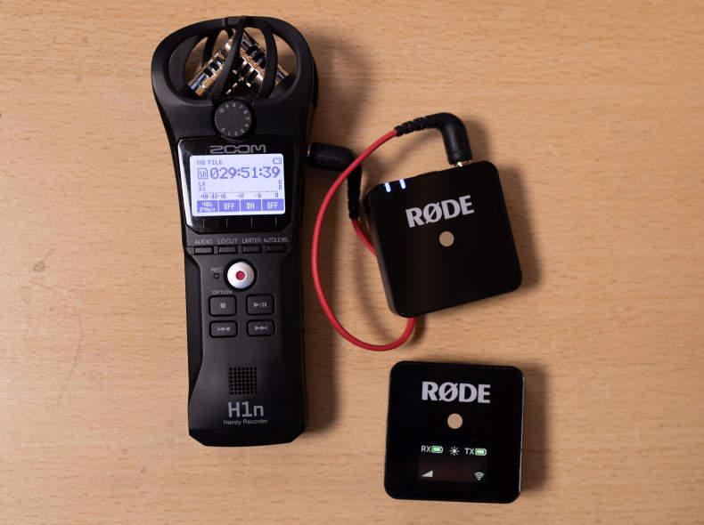 30887 Rode Wireless Go / Zoom H1n