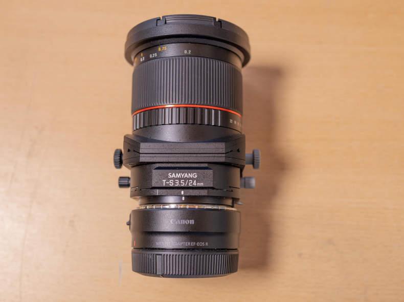 30891 Samyang Tilt Shift 24mm Canon Nikon
