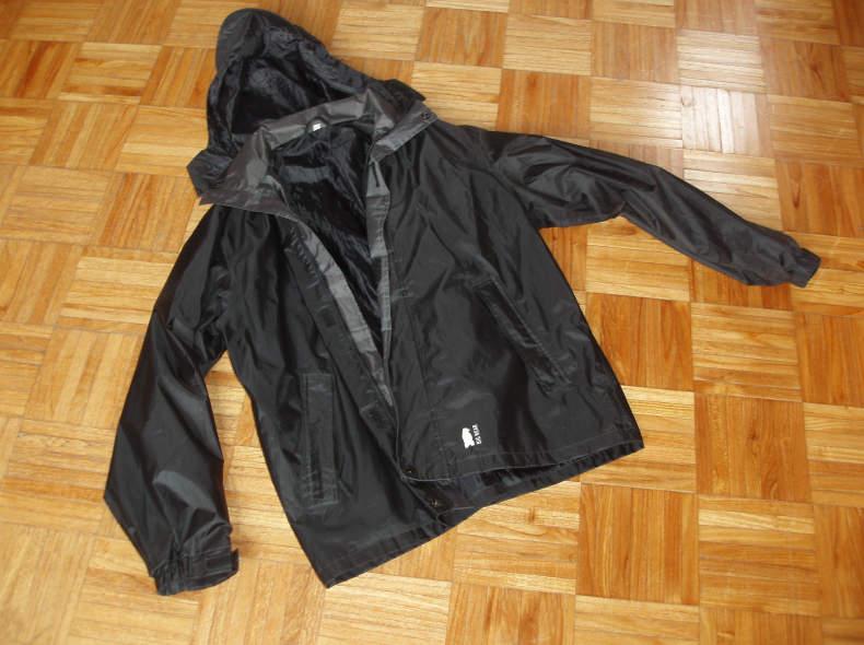 31030 Regenjacke schwarz Herrengrösse S