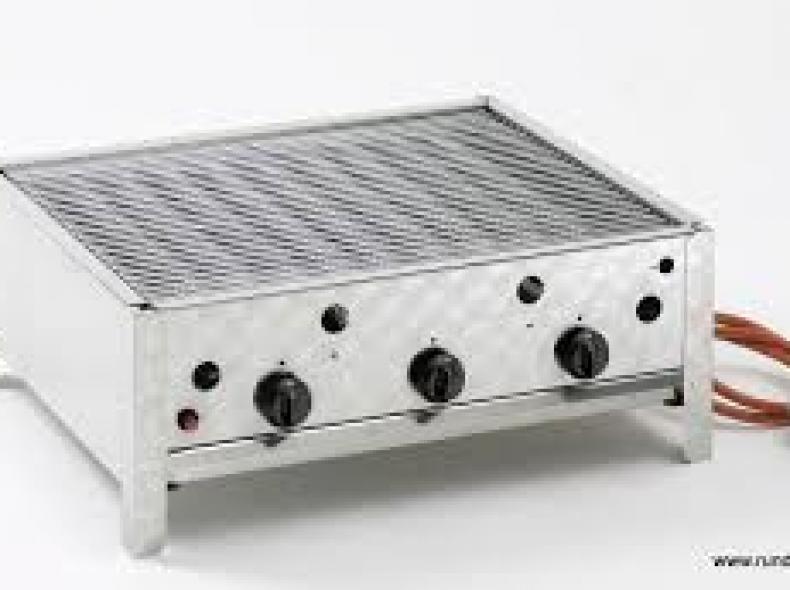 3239 Gastro Gas Grill 3-flammig