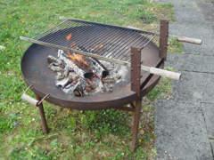 4139 Feuerschale mit Grill