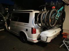 31442 Fahrradträger Heckklappe VW T6 Cali