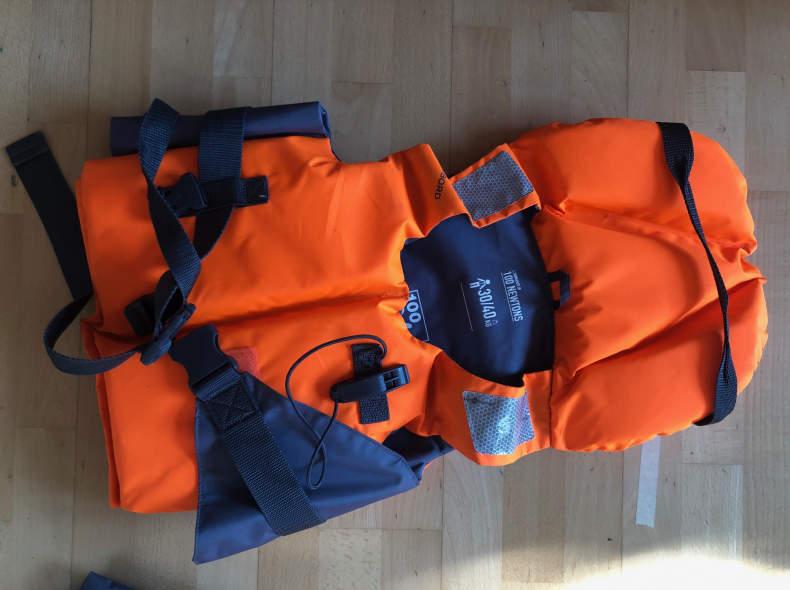 31588 2 Schwimmwesten junior 100N / 40kg