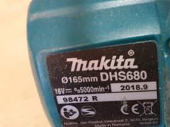 31715 Makita Akku Handkreissäge DHS 680