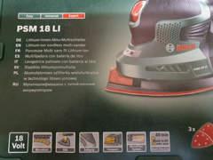 31718 Bosch Akku Schleifer PSM 18 LI