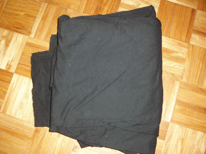 31921 Schwarze Tücher zum Abdecken