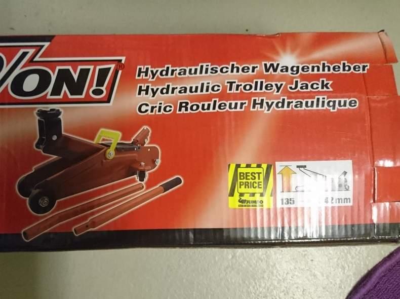 3378 Hydraulischer Wagenheber