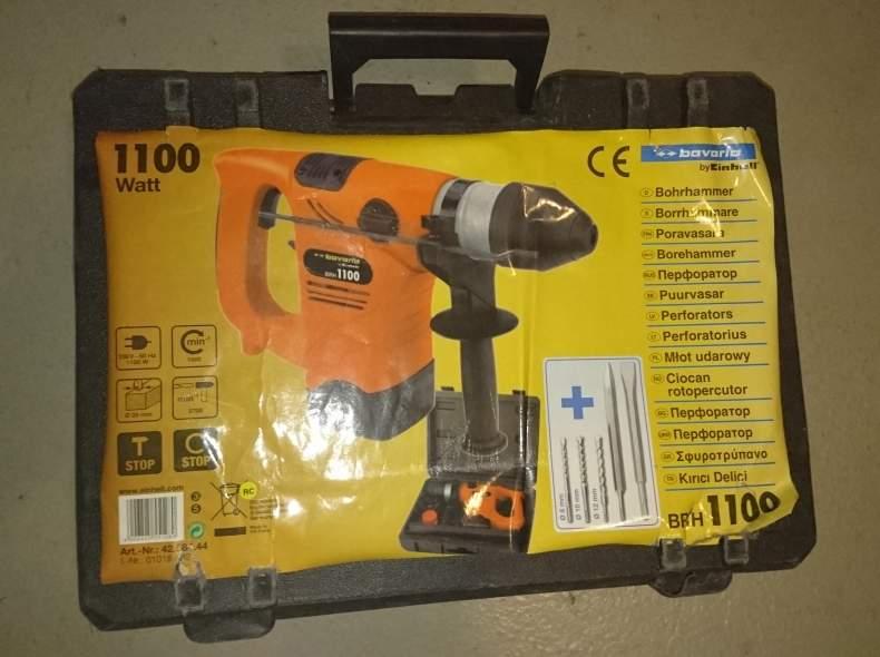 3380 Borhammer 1100 Watt