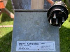 32153 Häcksler Komposter