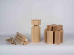 32453 KUBB Holz-Wikinger-Spiel