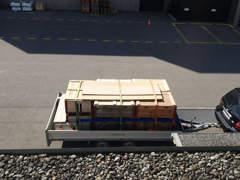 32518 Sachtransportanhänger Saris ZW3500