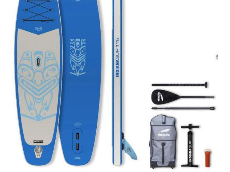 32546 Indiana SUP Family Pack 11'6