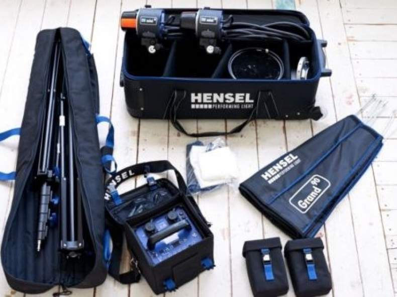 3454 Blitzanlage Hensel porty L 1200