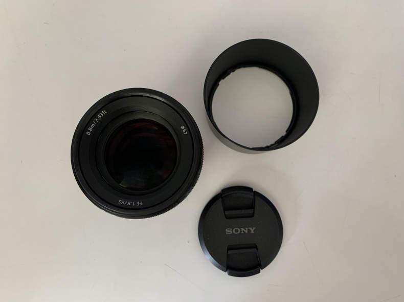 32682 Sony FE 85mm 1.8, Full Frame E-Moun