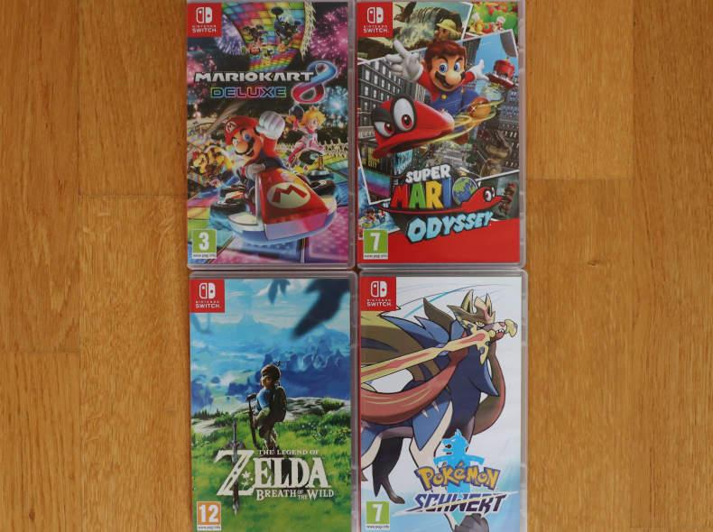 32751 12 Nintendo Switch Games