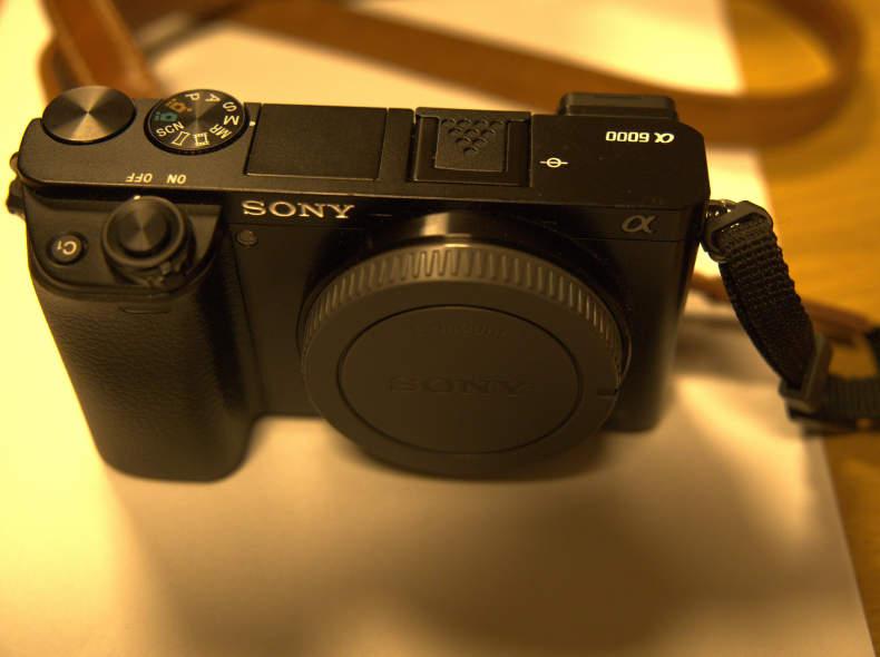 32777 Sony Alpha A6000 Kamerabody