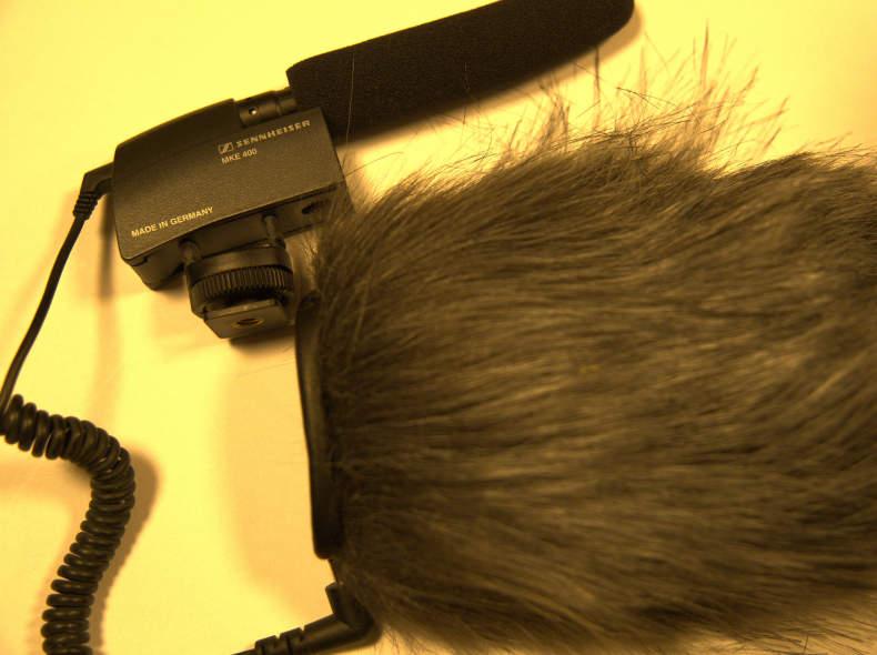 32778 Richtmikrofon Sennheiser MKE 400