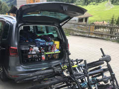 32852 Fahrradträger / Veloträger 4er