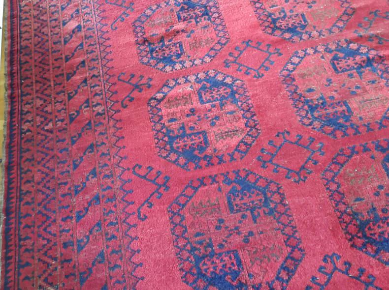 32869 Teppich Afghan Original 340x280 cm
