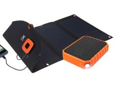 33059 USB Solar-Ladegerät mit Powerbank