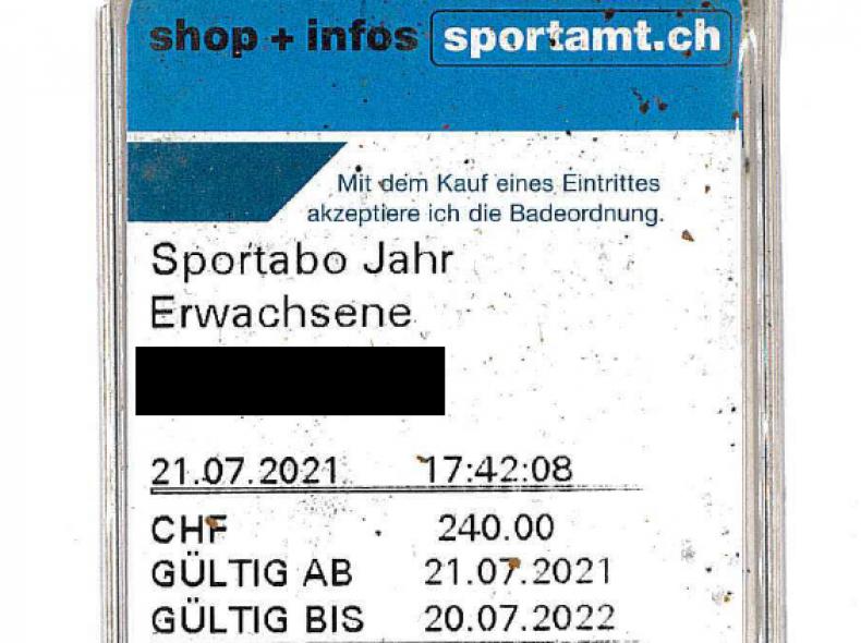 33073 Sportabo / Schwimmabo