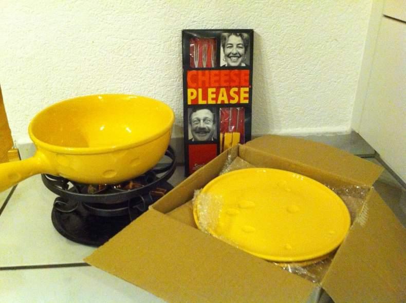3506 Käse Fondue Set (6p)