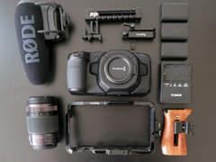 33161 Blackmagic Pocket Camera 4k Set