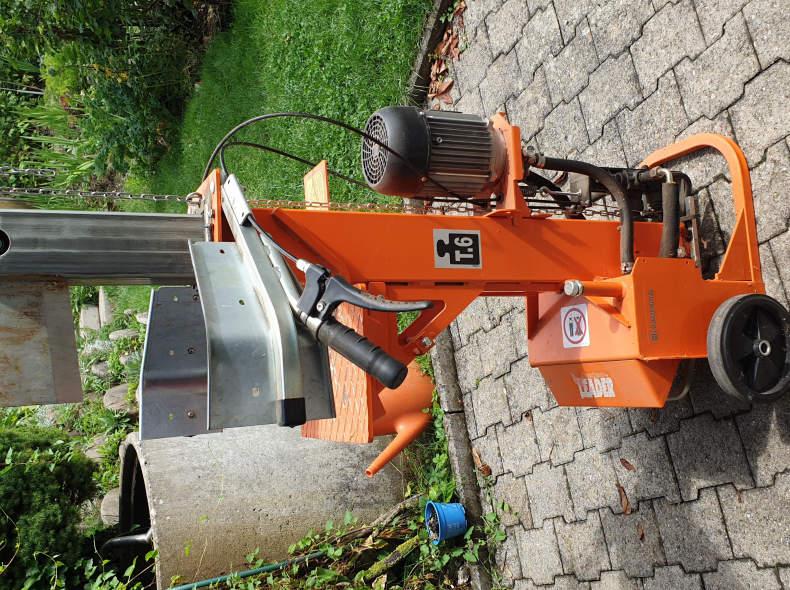 33324 Holzspaltmaschine Hydraulisch 6 To