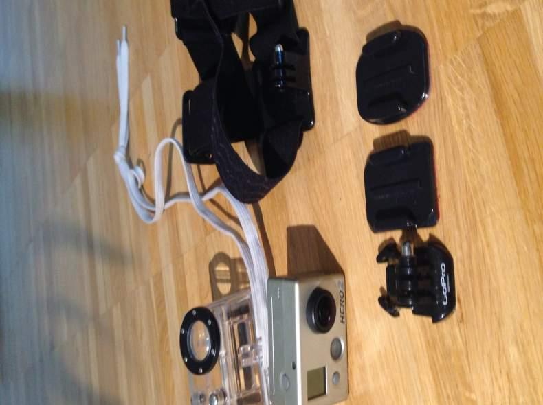 3550 GoPro Hero2 Videokamera